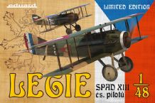 Eduard 1/48 Model Kit 11123 Legie - SPAD XIII čs. pilotů  Limited Edition